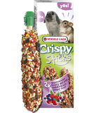 Versele-Laga Crispy Sticks Forest Fruit for Rabbit/Chinchilla 2 Pack - Exotic Wings and Pet Things