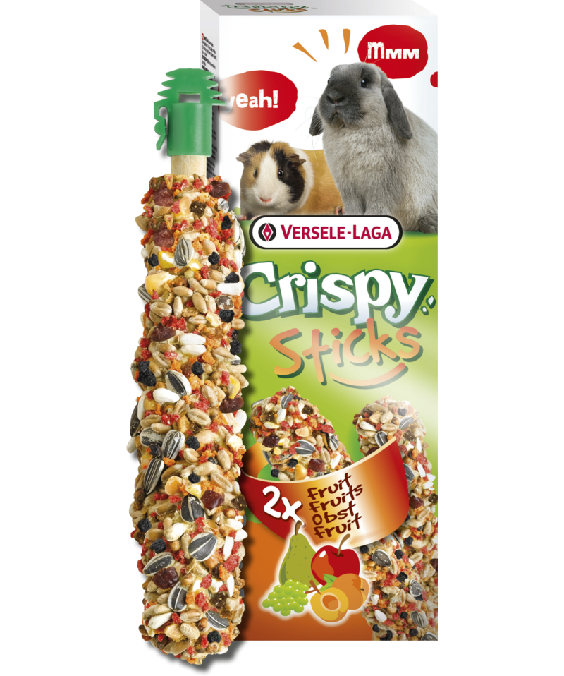 Versele-Laga Crispy Sticks Fruit Rabbit/Guinea Pig Treat - Exotic Wings and Pet Things