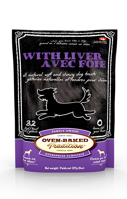 Oven Baked Traditions Treat with Liver 8 oz - Exotic Wings and Pet Things