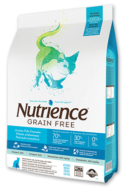 Nutrience Grain Free Ocean Fish Dry Cat Food 11 lbs