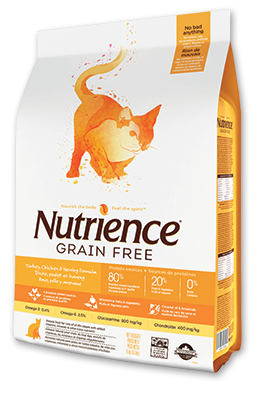 Nutrience Grain Free Turkey, Chicken & Herring Dry Cat Food 11 lb