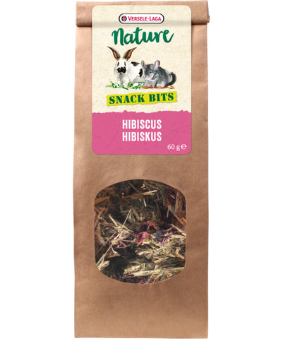 Versele-Laga Nature Snack Bits Hibiscus - Exotic Wings and Pet Things