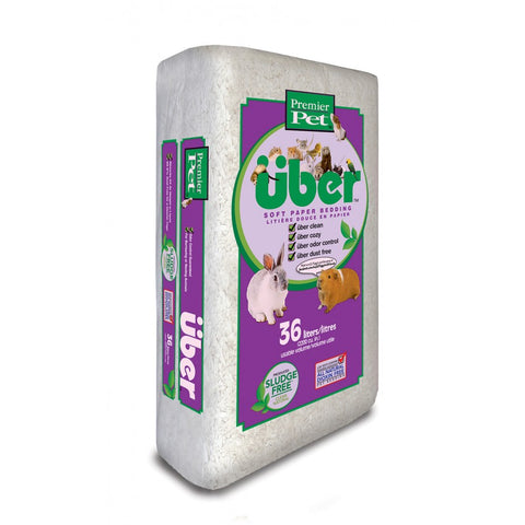 Premier Pet Uber Soft Paper Bedding White - Exotic Wings and Pet Things