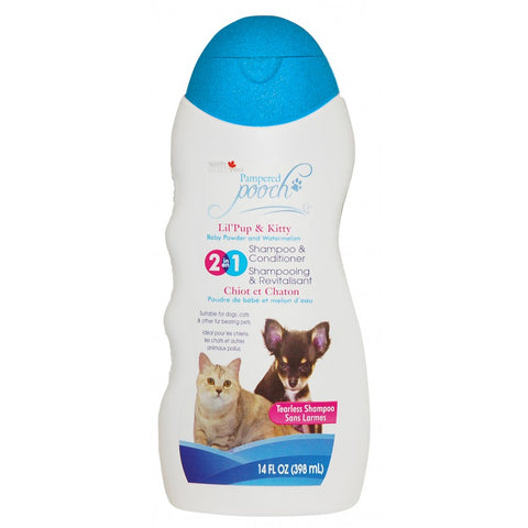 Pampered Pooch Lil' Pup & Kitty Baby Powder & Watermelon Shampoo / Conditioner - Exotic Wings and Pet Things