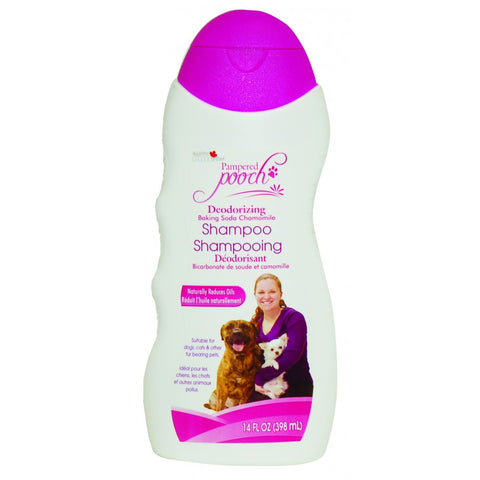 Pampered Pooch Baking Soda & Chamomile Deodorizing Shampoo - Exotic Wings and Pet Things