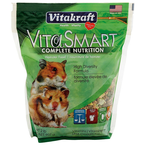 Vitakraft Vita-Smart Hamster Food 2.1 lb - Exotic Wings and Pet Things