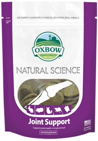 Oxbow Natural Science Joint Support 60 ct - Exotic Wings and Pet Things