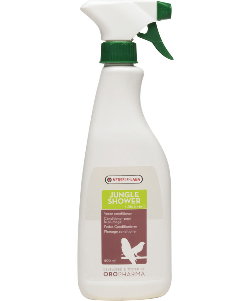 Versele-Laga Oropharma Jungle Shower Aloe Vera Bird Spray 500 ml - Exotic Wings and Pet Things