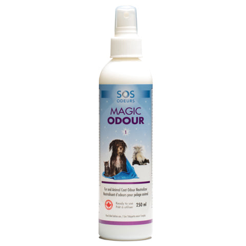 SOS Odours Magic Odour Fur and Animal Coat Odour Neutralizer - Exotic Wings and Pet Things