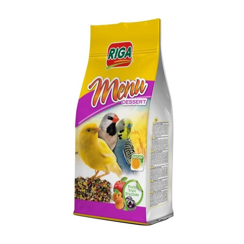 Riga Menu Dessert with Eggs & Fruits Canaries/Finch/Parakeet Treat 150g - Exotic Wings and Pet Things