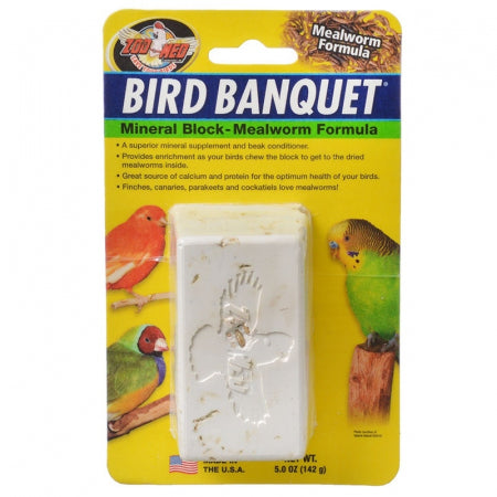 Zoo Med Bird Banquet – Mealworm Formula - Exotic Wings and Pet Things