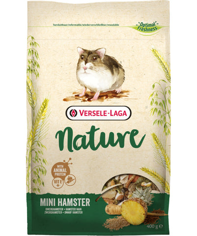 Versele-Laga Nature Mini-Hamster Food 400 g - Exotic Wings and Pet Things