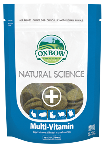 Oxbow Natural Science Multi-Vitamin 60 ct - Exotic Wings and Pet Things