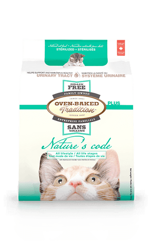 Oven Baked Tradition Natures Code Grain Free Urinary Tract Cat Food