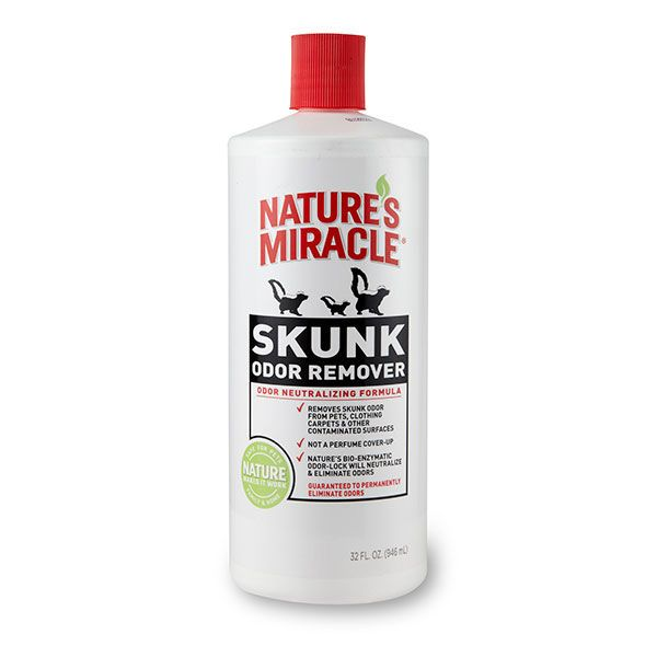 Nature's Miracle Skunk Odor Remover 32 oz - Exotic Wings and Pet Things