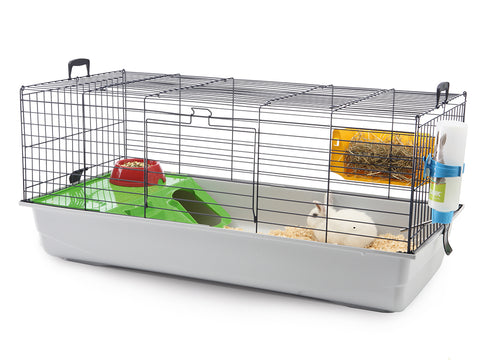 Savic Nero 3 De Luxe Rabbit/Guinea Pig Cage - Exotic Wings and Pet Things