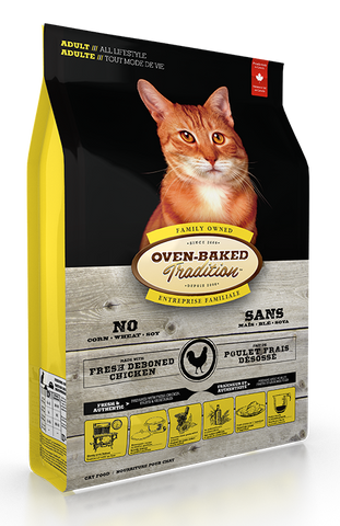 Oven Baked Traditions Adult Cat Food Chicken