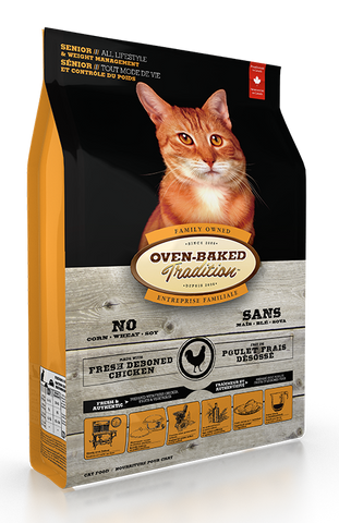 Oven Baked Traditions Senior Weight Management Cat Food Chicken