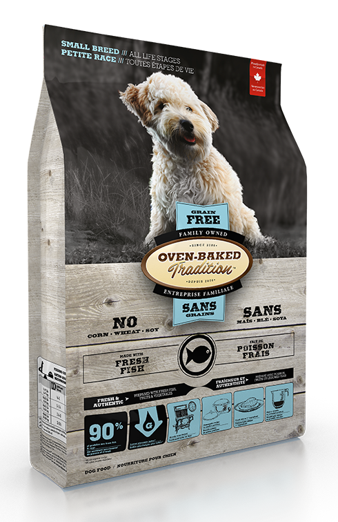 Oven Baked Traditions Small Breed Grain Free Dog Food Fish