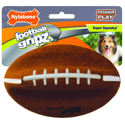Nylabone Football Gripz Dog Toy