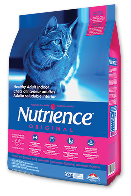 Nutrience Healthy Cat Adult Indoor Chicken & Brown Rice Recipe 11 lbs