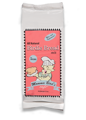Momma Bird's Birdie Bread Original 13.5 oz - Exotic Wings and Pet Things