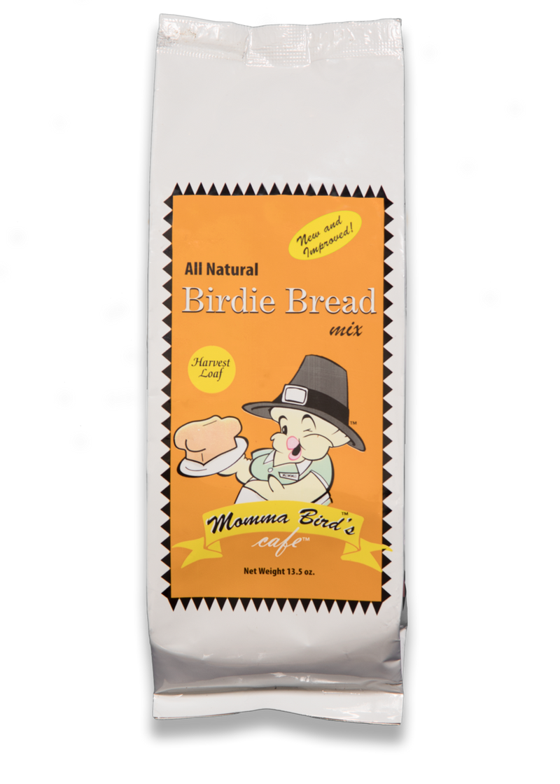 Momma Bird's Birdie Bread Harvest Loaf 13.5 oz - Exotic Wings and Pet Things