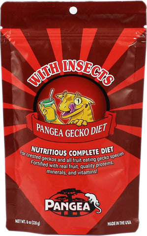 Pangea Fruit Mix With Insects Complete Gecko Diet - Exotic Wings and Pet Things