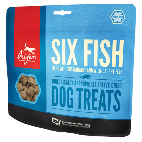 Orijen Freeze Dried Dog Treat - Six Fish