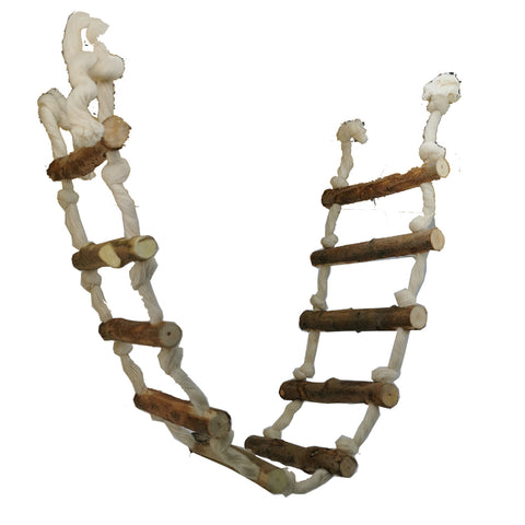 Parrot Lumber Cotton Jungle Ladder - 3 Sizes