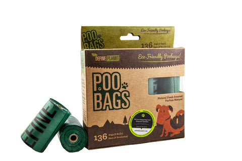 Define Planet Poop Bags Refill Rolls - Exotic Wings and Pet Things