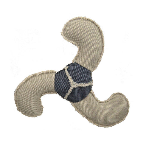 Amazing Canvas Boomerang 9 inch Dog Toy