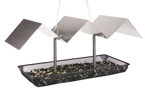 Pinebush Metallic Wave Platform Feeder - Exotic Wings and Pet Things