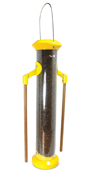 "Pinebush 16"" Wingfield Finch Feeder with Wood Perches - Exotic Wings and Pet Things"