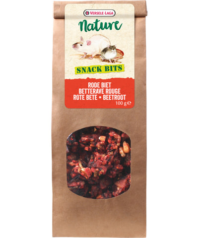 Versele-Laga Nature Snack Bits Beetroot - Exotic Wings and Pet Things