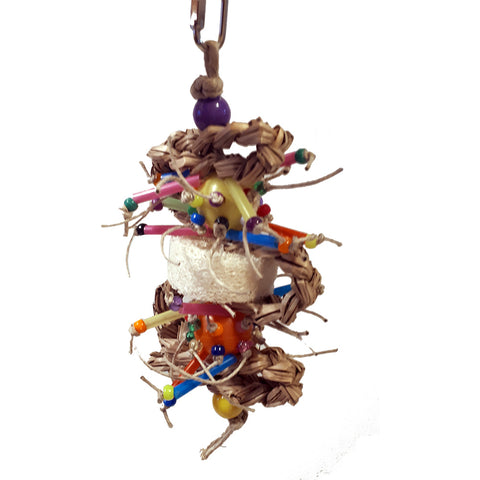Billy Bird Space Station Bird Toy - 400 - Exotic Wings and Pet Things