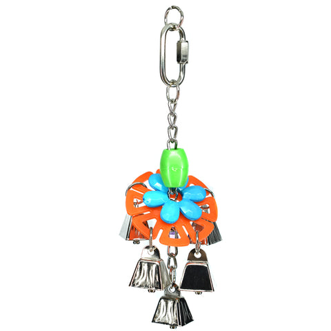 Billy Bird Crazy Bells Bird Toy - 271 - Exotic Wings and Pet Things