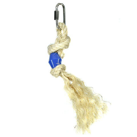 Billy Bird Sisal Brush Bird Toy - 264 - Exotic Wings and Pet Things