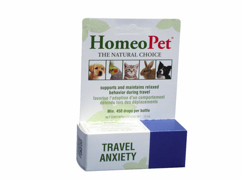 HomeoPet Travel Anxiety For Pets