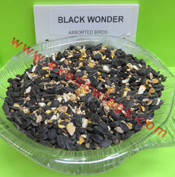 Black Wonder Wild Bird Seed by Conestogo Bird Seed Company - Exotic Wings and Pet Things