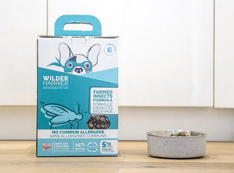 Wilder Harrier Farmed Insects Formula Dog Food