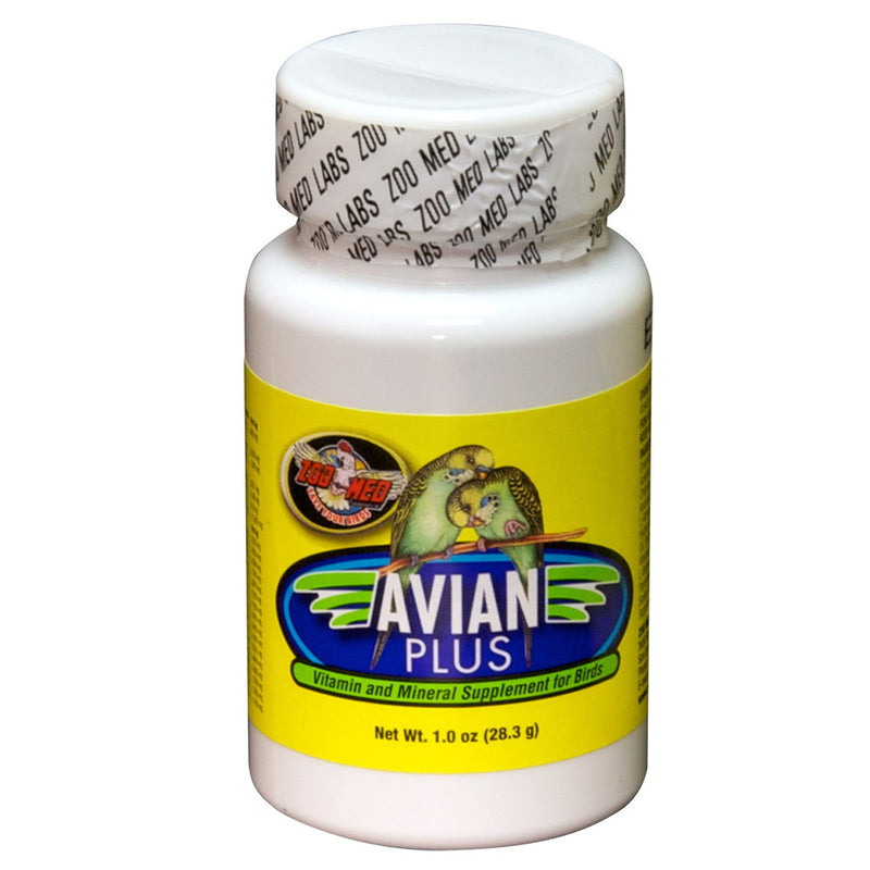 Zoo Med Avian Plus Supplement - Exotic Wings and Pet Things