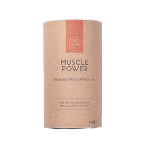 can of your superfoods muscle power 400g