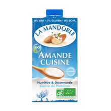Load image into Gallery viewer, vegan almond cooking cream la mandorle jadon