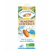 Load image into Gallery viewer, la mandorle organic almond and coconut milk 1 litre