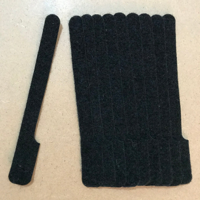 Bulk GRAP! Best Priced Double-sided Hook and Loop Anywhere! Bundles of 250 pieces.