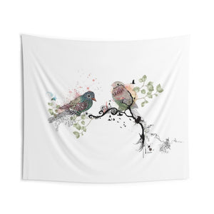 birds wall tapestry hanging - Liz Kapiloto Art & Design