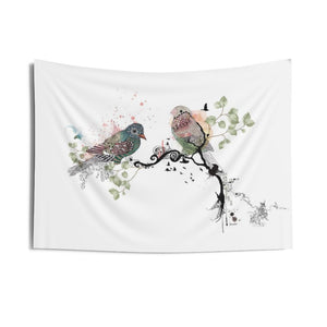 birds wall tapestry - Liz Kapiloto Art & Design