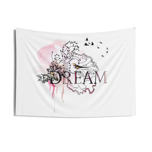 """dream"" purple wall tapestry"