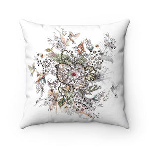 Boho pillow - Floral throw pillow - Liz Kapiloto Art & Design